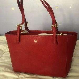 NWT Tory Burch York Small Buckle Tote